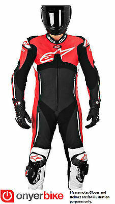 Alpinestars Atem 1 One Piece Leather Motorbike Motorcycle Suit Racing Track SALE