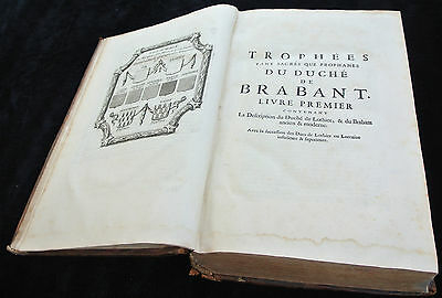 Antique Book-BRABANT-HISTORY-TROPHEES DE BRABANT-Harrewijn-Butkens-1724