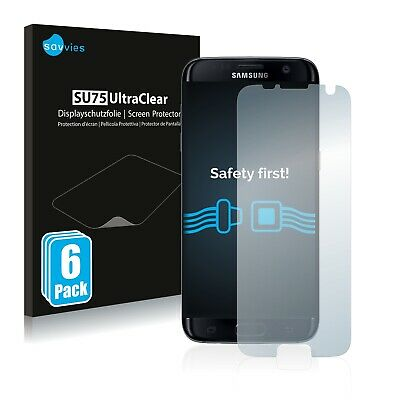 6x Savvies Screen Protector for Samsung Galaxy S7 Edge Ultra Clear