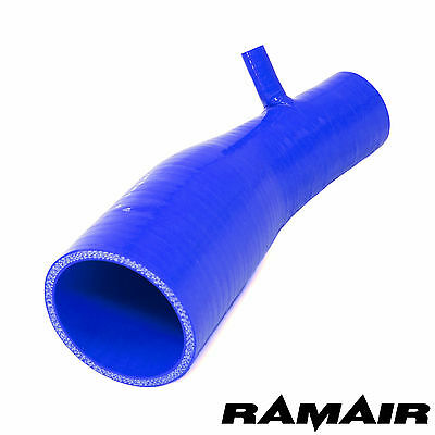 Blue Ramair Silicone Induction Intake Pipe Air Hose 2013< Clio 4 200 RS