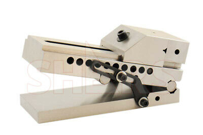 """SHARS 5""""x.0002"""" Precision Sine Vise 4"""" Width 5"""" Opening 1-5/8"""" Jaw Depth 10"""" OAL"""