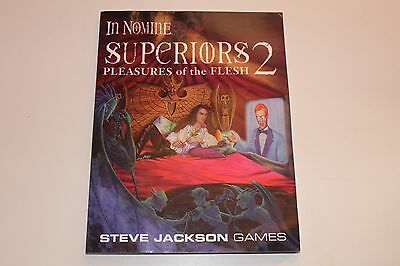 Steve Jackson IN NOMINE SUPERIORS 2 Pleasures of Flesh RPG Role Playing Game