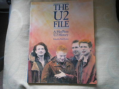 U2 book the u2 file a hot press U2 history edited by niall stokes