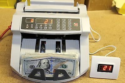 New Money Bill Cash Counter Bank Machine Counting Currency Usd Digital