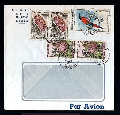 12828-SENEGAL-AOF-AIRMAIL COVER DAKAR.1964.French colonies.Afrique.