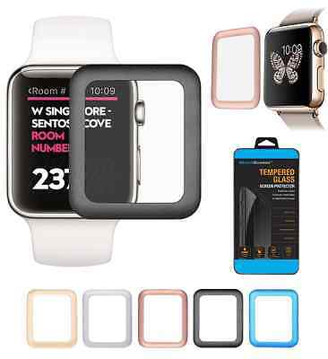 Full Cover Tempered Glass Screen Protector For Apple Watch 2 / 3 38/42mm