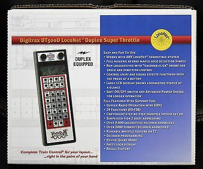 Any Scale DIGITRAX  DT402R LocoNet Super Throttle - Radio Equipped 29 Functions