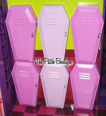 Monster High Doll School Playset Replacement Locker Door * You Pick Color *