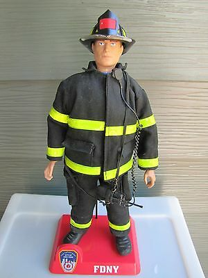 9/11 Limited Edition Official FDNY Firefighters Collectible Action Figures.