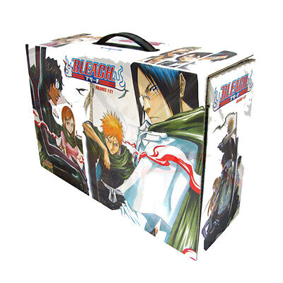 Tite Kubo's Collection Bleach Box Set 1: Volumes 1-21 Complete Paperback, NEW