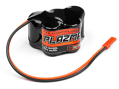 Hpi 101936 Plazma 6.0V Receiver Pack Re-Chargeable Battery [Nimh Receiver Packs]