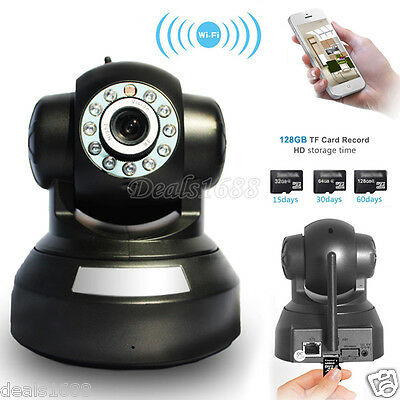 Wireless 720P Security IP Camera Webcam Pan Tilt WIFI Baby Monitor Night Vision