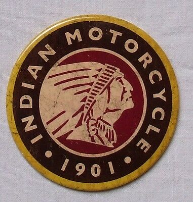 Indian Motorrad Vintage Logo original USA XL Magnet Schild
