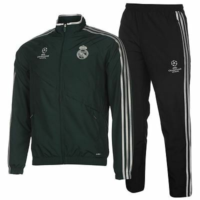 adidas trainingsanzug real madrid fu ball sportanzug. Black Bedroom Furniture Sets. Home Design Ideas