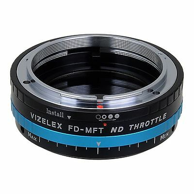 Fotodiox Objektivadapter Pro Canon FD Lens to Micro-4/3 Variable ND Filter