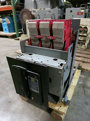 Square D Type K-600 600A w 600A Direct Acting Trip OD3 Power Circuit Air Breaker