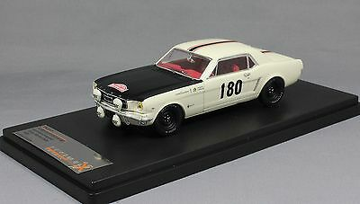 Premium X Ford Mustang Monte Carlo Rally 1965 Geminiani & Anquetil PRD313 1/43