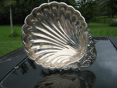 "F. B. ROGERS  SILVER  #1370 Shell Platter / 12"" x  10"" / Vintage Clearance Price"