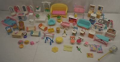 Fisher Price Loving Family Doll House Playset Furniture lot