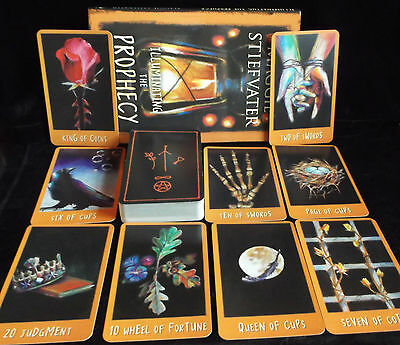 Sealed & Brand New! The Raven's Prophecy Tarot Cards & Book Oracle Dream Wisdom
