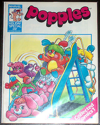POPPLES HOLIDAY SPECIAL (VF/NM) Toy & Cartoon Characters! Marvel UK 1987