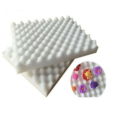 2xFoam Dry Fondant Tools Flower Shaping Sponge Pad Mat DIY Cake Molds Baking S