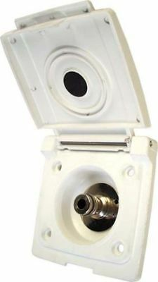 Bullfinch 609701 Water Inlet Point, White Caravan Motorhome Camper Plumbing