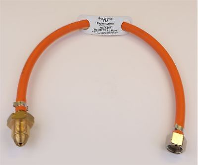 Pigtail For Changeover Valve - 500mm No.1492 Gas Propane Connector Valve