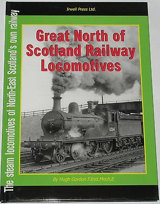 GNSR LOCOMOTIVES HISTORY Great North of Scotland Railway Steam Engine Rail Locos
