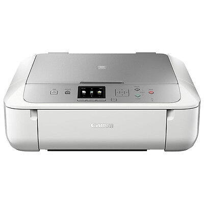 Canon Pixma Mg5753 Wireless All in One Printer Copy Scan White And Silver