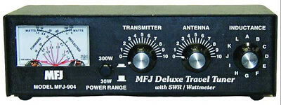 MFJ-904 3.5 To 30MHz 150W Manual Travel Tuner