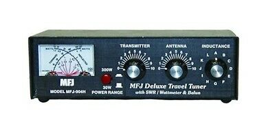 MFJ-904H 3.5 To 30MHz 150W Manual Travel Tuner With Fitted Balun