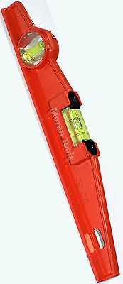 "Scaffold Spirit level 300mm 12"" magnetic Scaffolders boat horizontal vertical"