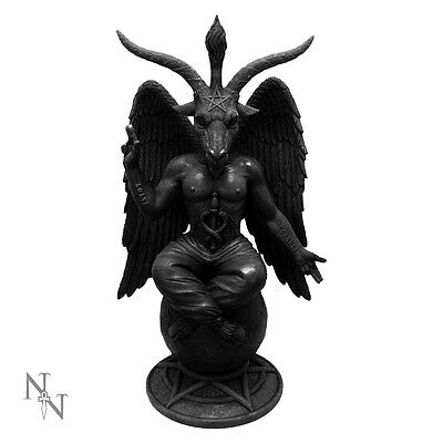 Baphomet Antiquity Figurine Satanic Demon Occult Goat of Mendes by Nemesis Now