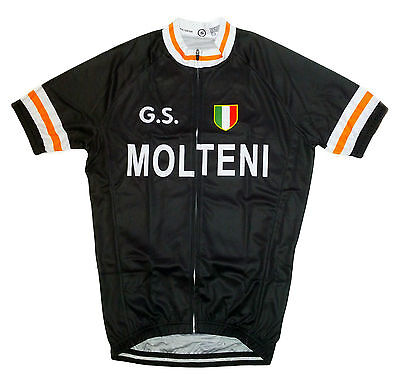 Gs Molten Retro Vintage Cycling Team Bike Cycle Short Sleeve Summer Jersey
