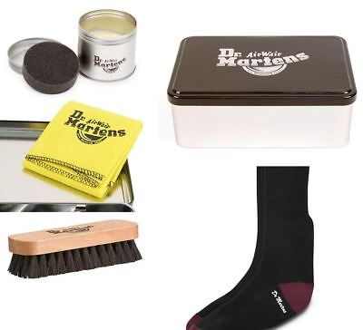 Dr Martens Ultimate Accessories Collectable Tin Balsam, Brush, Socks and more