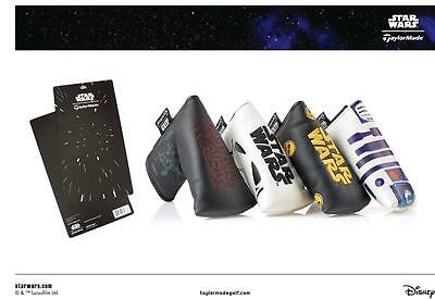 TaylorMade Star Wars Golf PUTTER HEAD COVER DARTH VADER R2D2 C3P0 STORM TROOPER