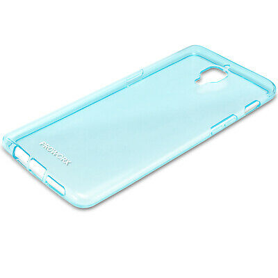 For OnePlus 3 Three PROWORX Premium TPU Rubber Case Cover Mint Green
