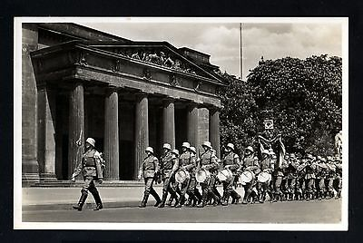 13713-GERMAN EMPIRE-MILITARY Postcard BERLIN.soldiers.WWII.DEUTSCHES III REICH