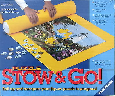 Ravensburger Jigsaw Puzzle Stow & Go Storage Mat 300 to 1500 Piece Puzzles