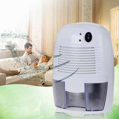 36W Quiet Electric Air Room Mini Dehumidifier Dryer Moisture Absorber 500ml Home