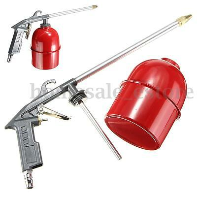 Auto Car Engine Cleaning Gun Solvent Air Sprayer Degreaser Siphon Tool Gray