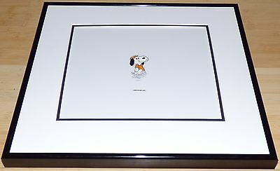 PEANUTS SNOOPY ORIGINAL 1980s CHEERIOS COMMERCIAL FRAMED PRODUCTION CEL