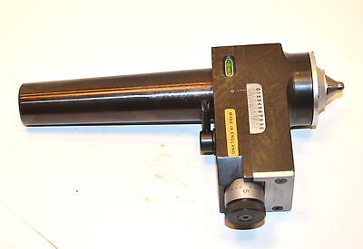 NOS Royal BOWERS UK  4 Mt Live Center  Lathe TAPER TURNING ATTACHMENT #WL14.5.4a