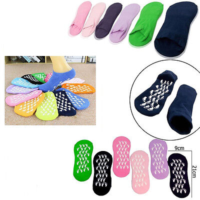 6X Pairs Women Ladies Girls Soft Warm Thermal Gripper Slipper Socks Bed Sock 4-6