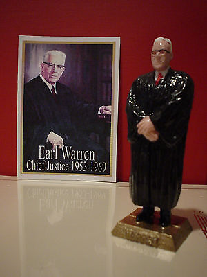 Supreme Court Chief Justice Earl Warren Figurine -Add Your Marx Collection