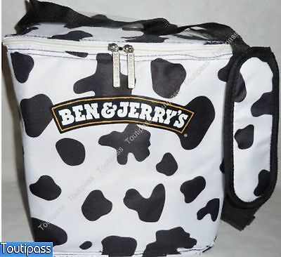BEN & JERRY'S Glace ice-cream glacière sac isotherme lunch-box neuf