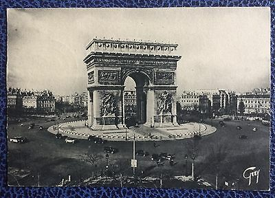 £££ France - carte maximum 28 / 11 / 1942 - Arce de trimphe Paris / place Etoile