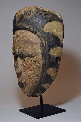 Old Weathered FANG Dance mask on Display stand, African Tribal Art