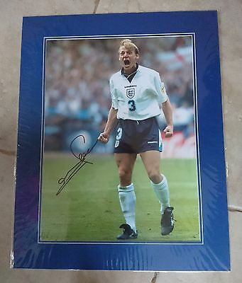 Stuart Pearce - England - Huge Mounted Signed Picture